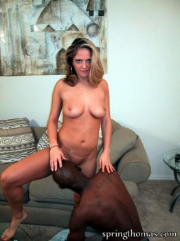 Interracial Pussy Eating